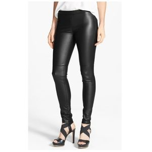 2b3beeb9c3701 Women Michael Kors Faux Leather Leggings on Poshmark